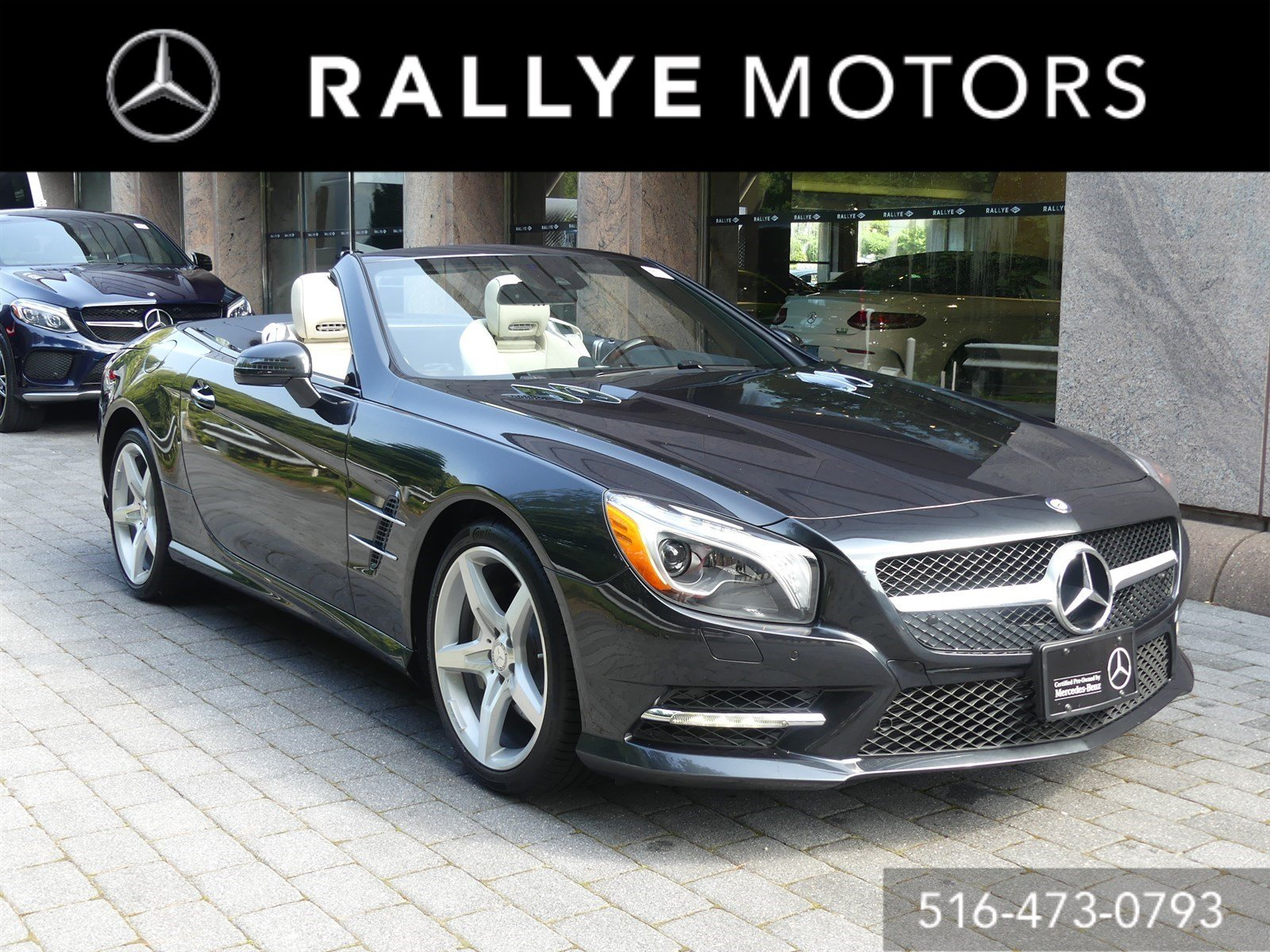 Certified Pre Owned 2016 Mercedes Benz SL SL 400 Convertible in
