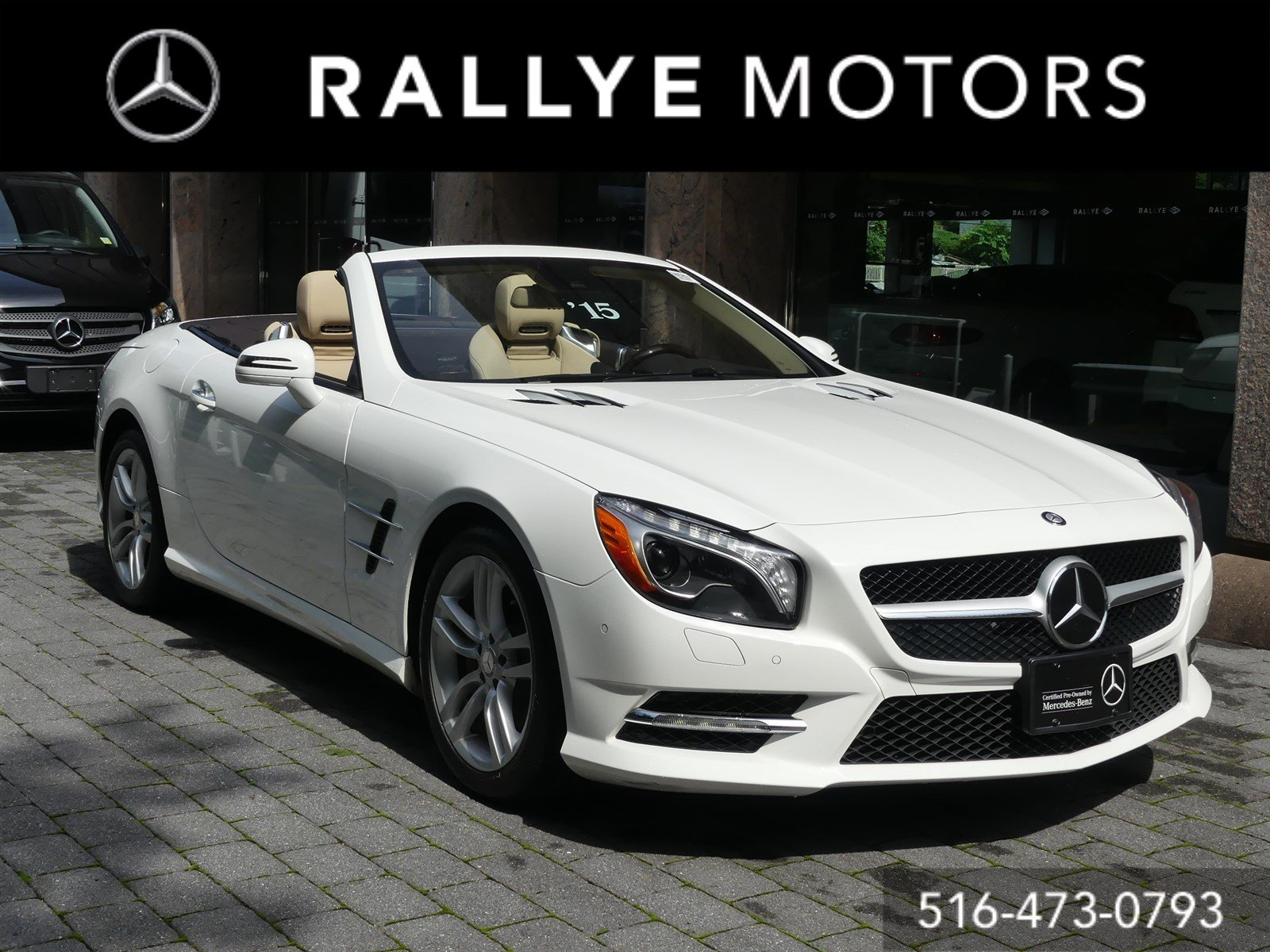 Certified Pre Owned 2015 Mercedes Benz SL Class SL 550 Convertible