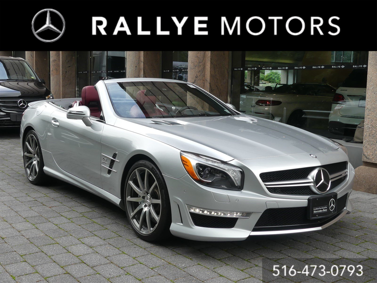 Certified Pre Owned 2016 Mercedes Benz SL AMG SL 63 Convertible in
