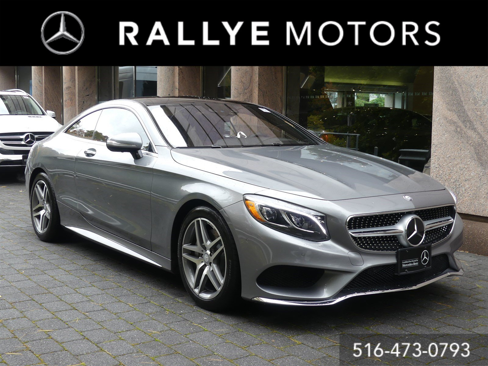 Certified Pre Owned 2015 Mercedes Benz S Class S 550 Sport 2dr Car