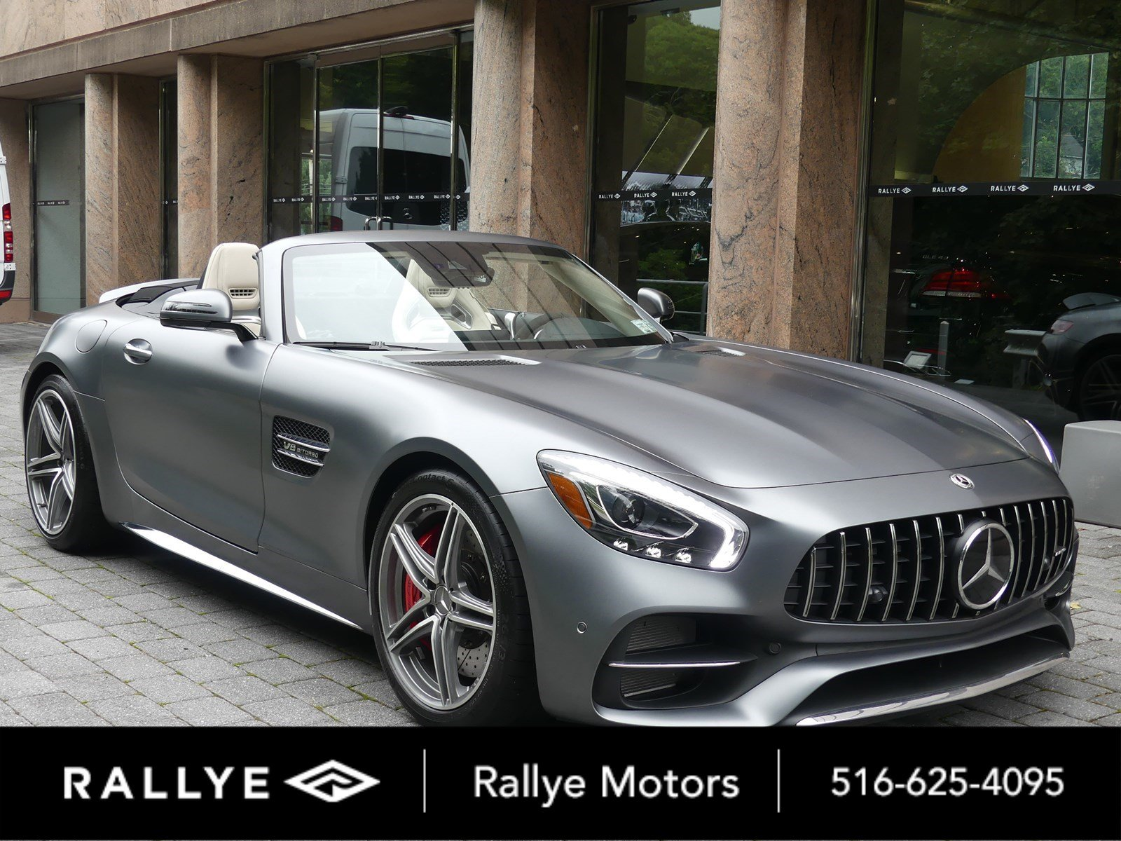 Pre Owned 2018 Mercedes Benz AMG GT AMG GT C Roadster